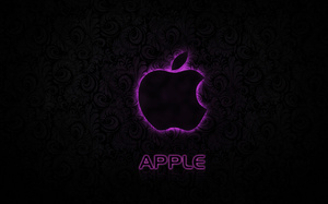 texture, Apple, pink, logo, hi-tech