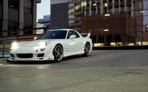 tuning cars, Auto, cars, wallpapers auto, parking, mazda rx7, cars walls, t ...