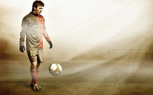 football,, Lionel messi, barcelona