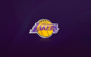лос анджелес, Los angeles lakers, фиолетовый, nba, баскетбол