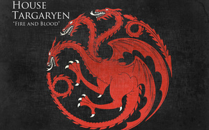 fire and blood, house targaryen, Game of thrones