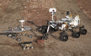 curiosity, Марсоходы, spirit and opportunity, mars pathfinder