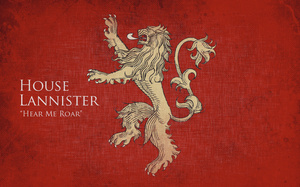 house lannister, game of thrones, Игры престолов
