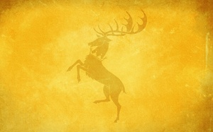 игра престолов, game of thrones, Олень, house baratheon