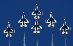 falcon, thunderbirds, General, dynamics, fighting, f-16, истребитель